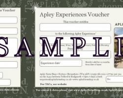 Apley Experience voucher