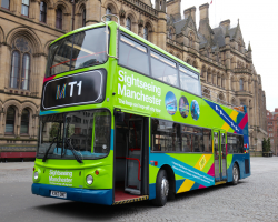 Sightseeing Manchester Bus Tour Any 4 Adults