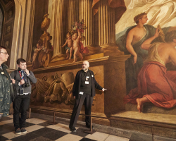 Gift voucher for 2 adult Painted Hall Tickets Image
