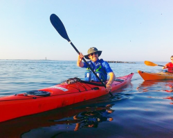 Glide with the Tide - sea kayaking and delicious food