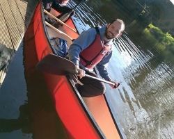 Self Guided Canoe Hire for two