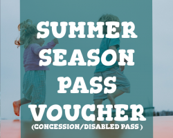 SUMMER SEASON PASS (CONCESSION/DISABLED)