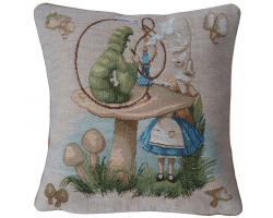 Alice in Wonderland Caterpillar  Cushion Cover