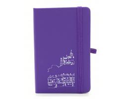 Purple A6 Notebook