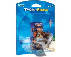 Collectable Playmo-Friends Pirate with Shield