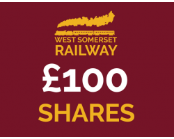 West Somerset Railway £100 Shares