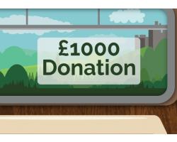 £1000.00 Donation