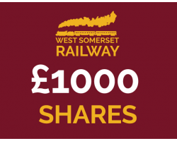West Somerset Railway £1000 Shares