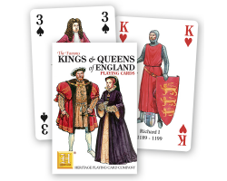 Playing Cards Kings & Queens