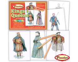 Kings & Queens of England Colouring Set