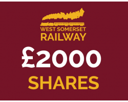 West Somerset Railway £2000 Shares