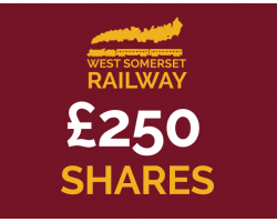 West Somerset Railway £250 Shares