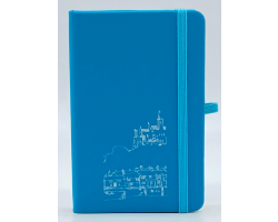 Mid Blue A6 Notebook