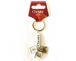 Chester 3 Charm Keyring