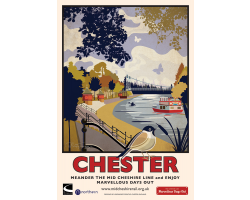 A2 Chester Poster