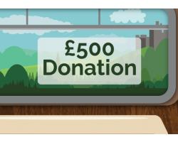 £500.00 Donation