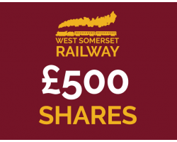 West Somerset Railway £500 Shares