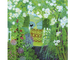 In A English Country Garden greetings card