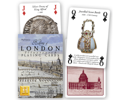 History of London Illustrated playing cards