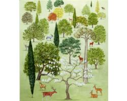Arboretum greetings card