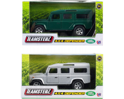 4x4 Land Rover Defender - Green Image