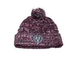 Oxford University Burgundy Bobble Hat