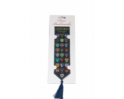 Oxford Colleges  Woven Silk Bookmark