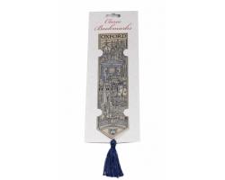 Oxford Woven Silk Bookmark