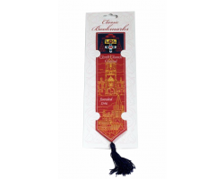 Christ Curch  Woven Silk Bookmark