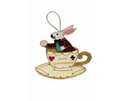 Alice in Wonderland Hanging Dec Teacup