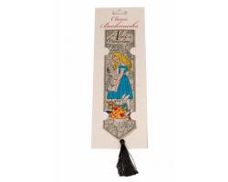 Alice in Wonderland Woven Silk Bookmark