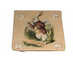 Alice in Wonderland White Rabbit Cushion Cover