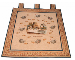 Alice in Wonderland Wall Tapestry: Tea Party
