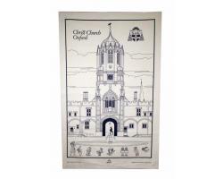 Christ Church Cotton Tea Towel
