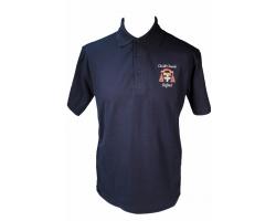 Navy Christ Church Polo Shirt-S