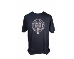 Men's Navy Oxford University  T Shirt--XS