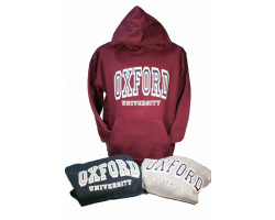 Burgundy Oxford University Sweatshirt -M
