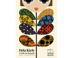Orla Kiely exhibition poster