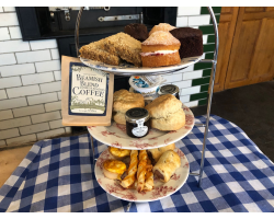 Baked by Beamish Afternoon Tea for Two with Coffee (LOCAL DELIVERY ON 6TH FEBRUARY ONLY)