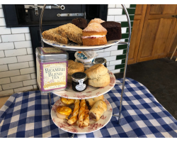 Baked by Beamish Afternoon Tea for Two with Tea (LOCAL DELIVERY ON 7TH FEBRUARY ONLY)