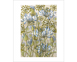 The Walled Garden greetings card
