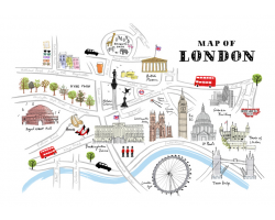 ALICE TAIT - MAP OF LONDON Image