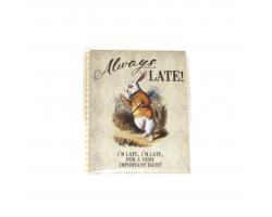 "Alice in Wonderland ""Always Late!"" Magnet"