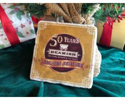 Beamish Golden Jubilee Marble Coaster