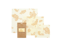 Beeswax wrap - set of 3 sizes