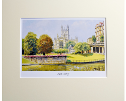 BATH ABBEY PRINT