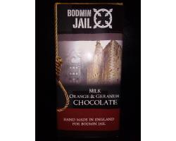 Chocolate Bar Milk, Orange & Geranium