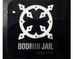 Bodmin Jail Coaster Black