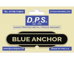 Blue Anchor Fridge Magnet