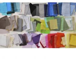 Designers Guild Brera Lino Colour Spectrumpostcard